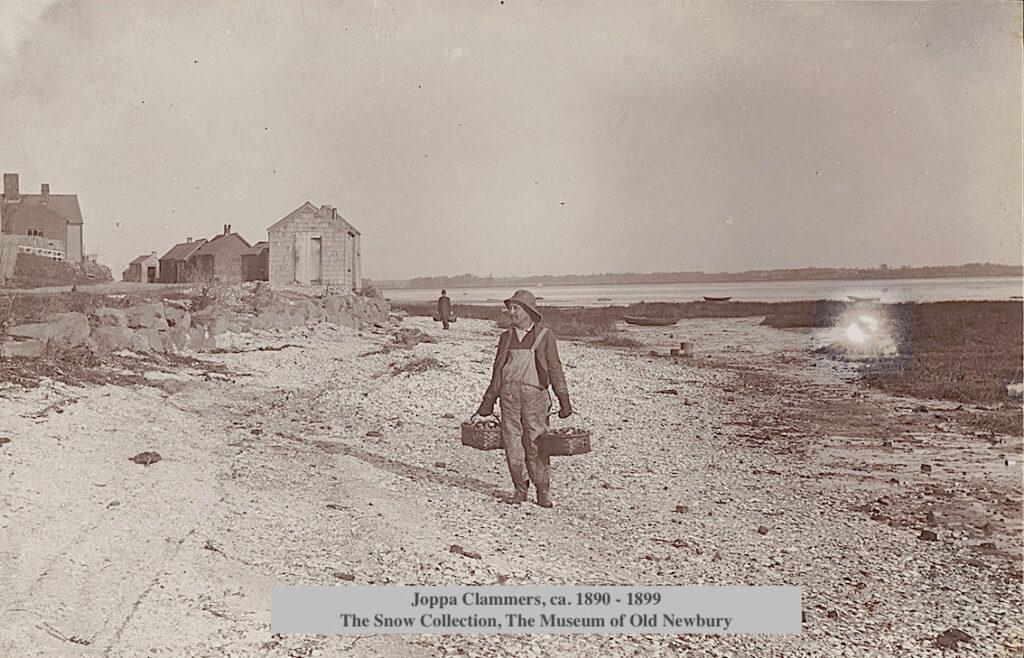 Clam Shacks, 1890 Joppa Clammer Newburyport MA