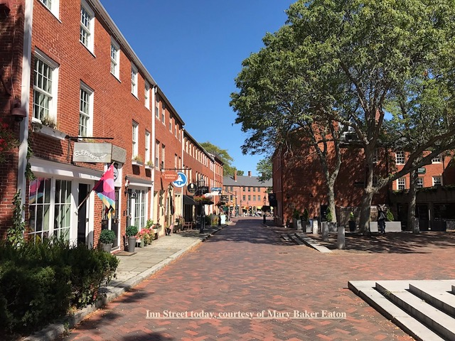 Inn Street, Newburyport MA, Courtesy of Mary Baker Eaton