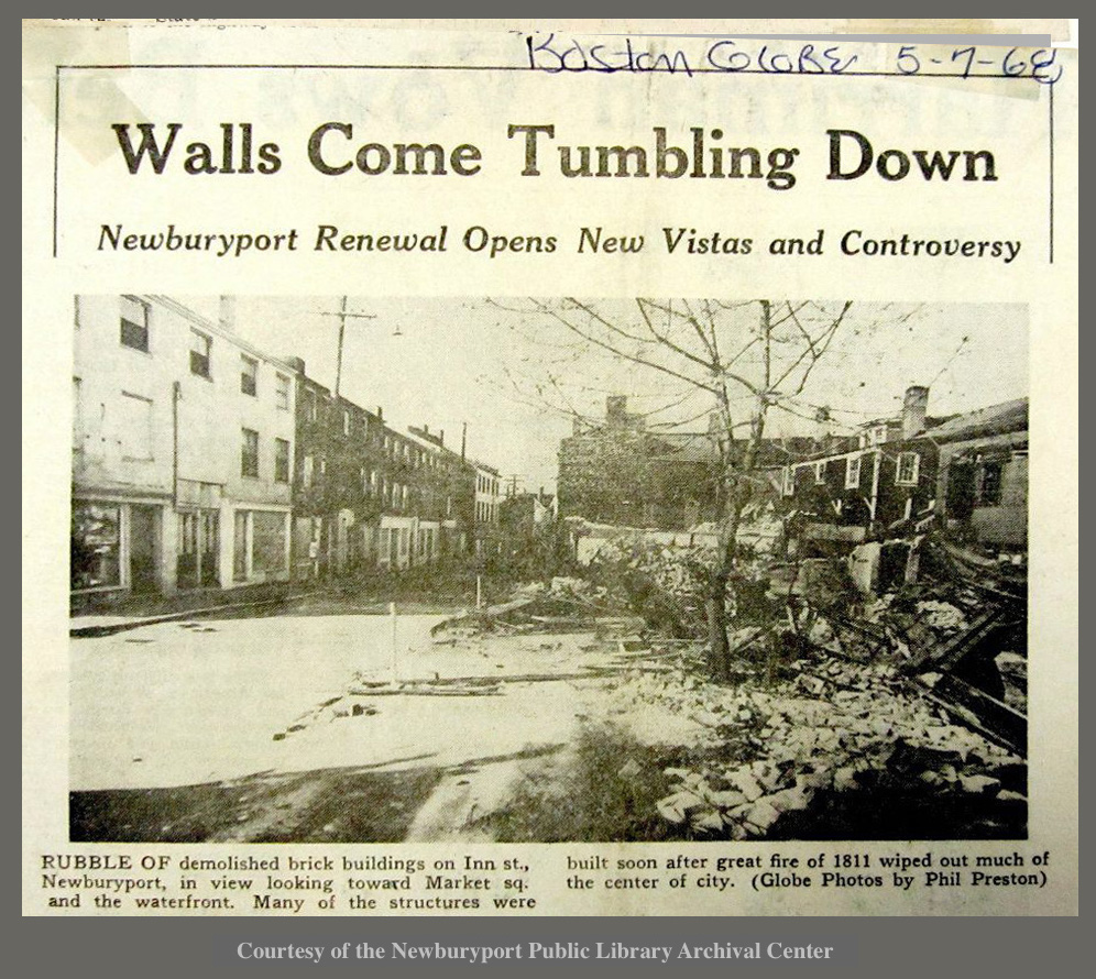 1968 Urban Renewal Article Newburyport MA