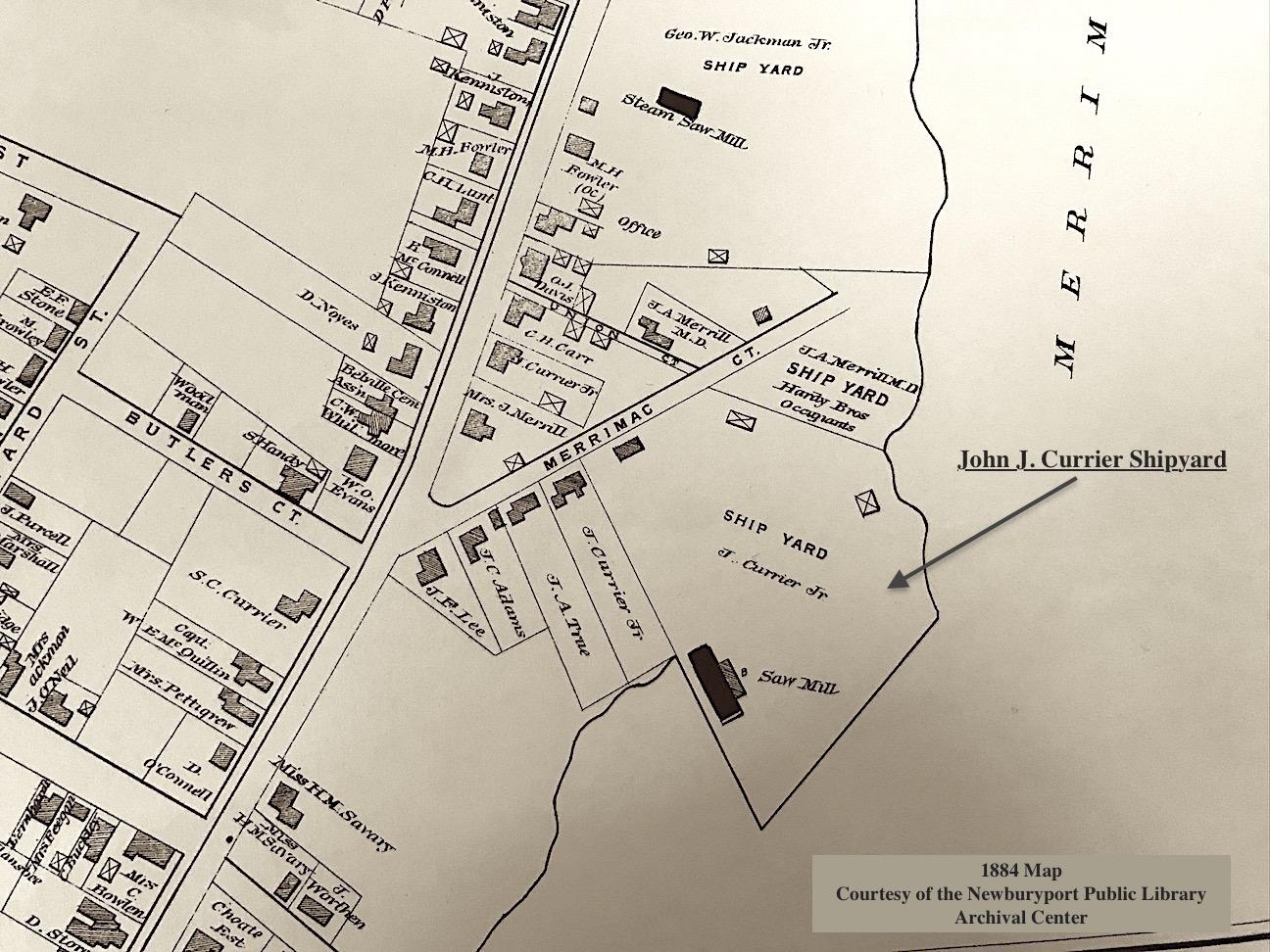 1884 Map Newburyport MA