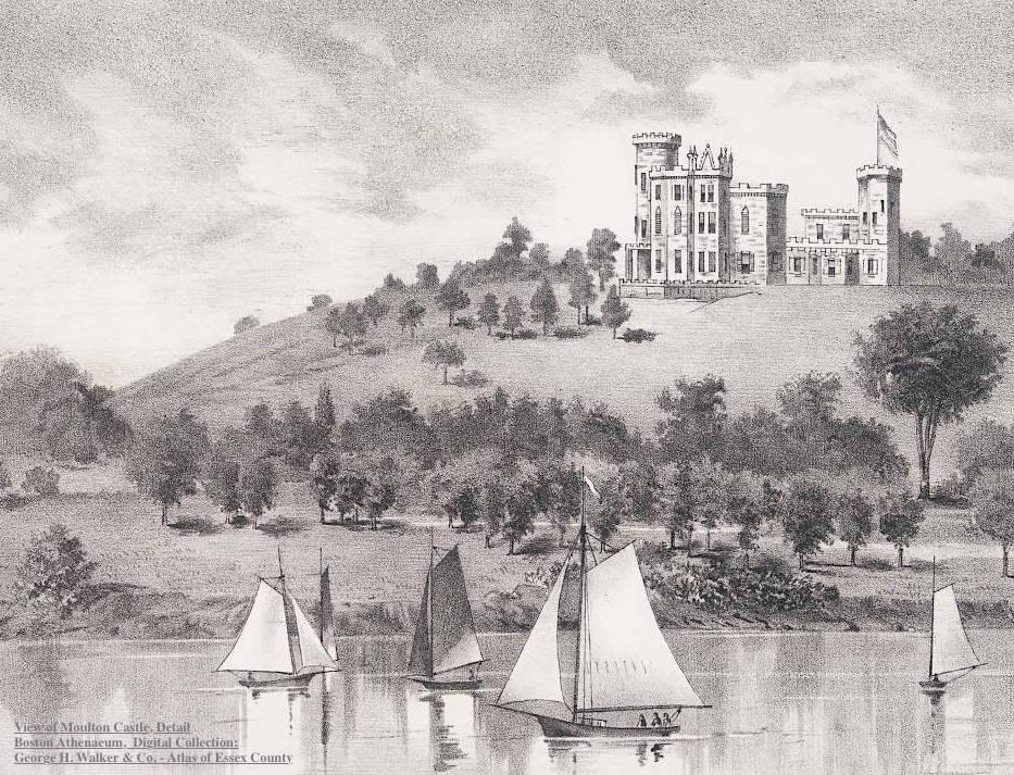 Moulton Castle Detail Newburyport MA