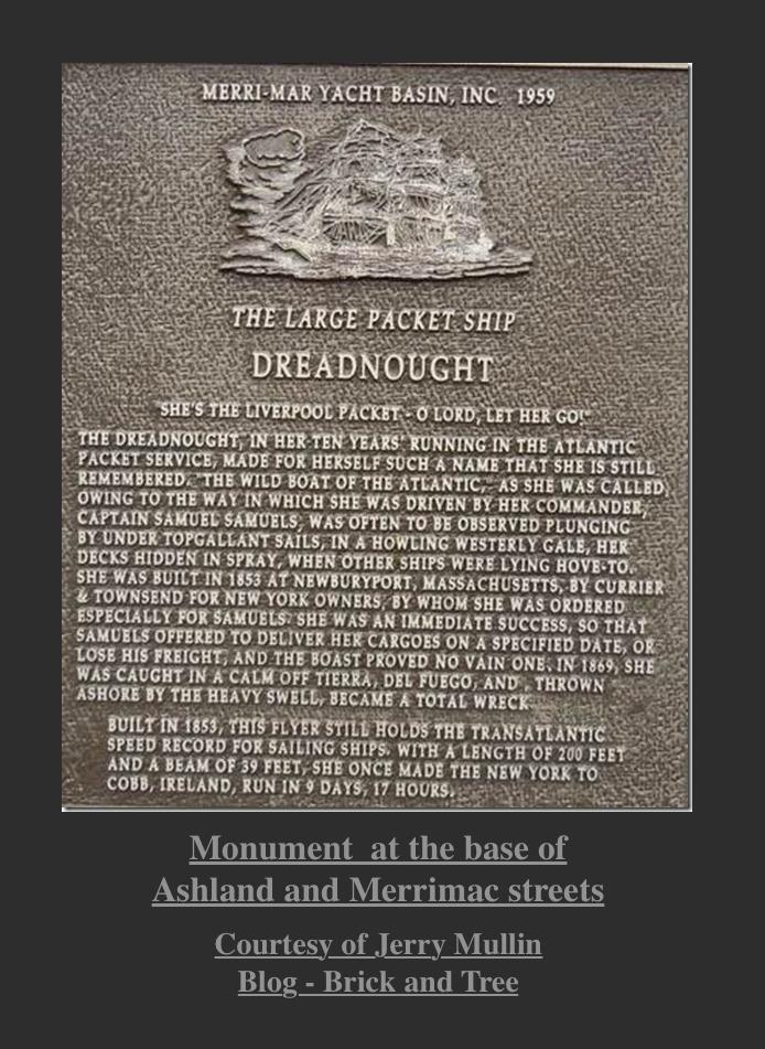 Dreadnought Monument Newburyport MA