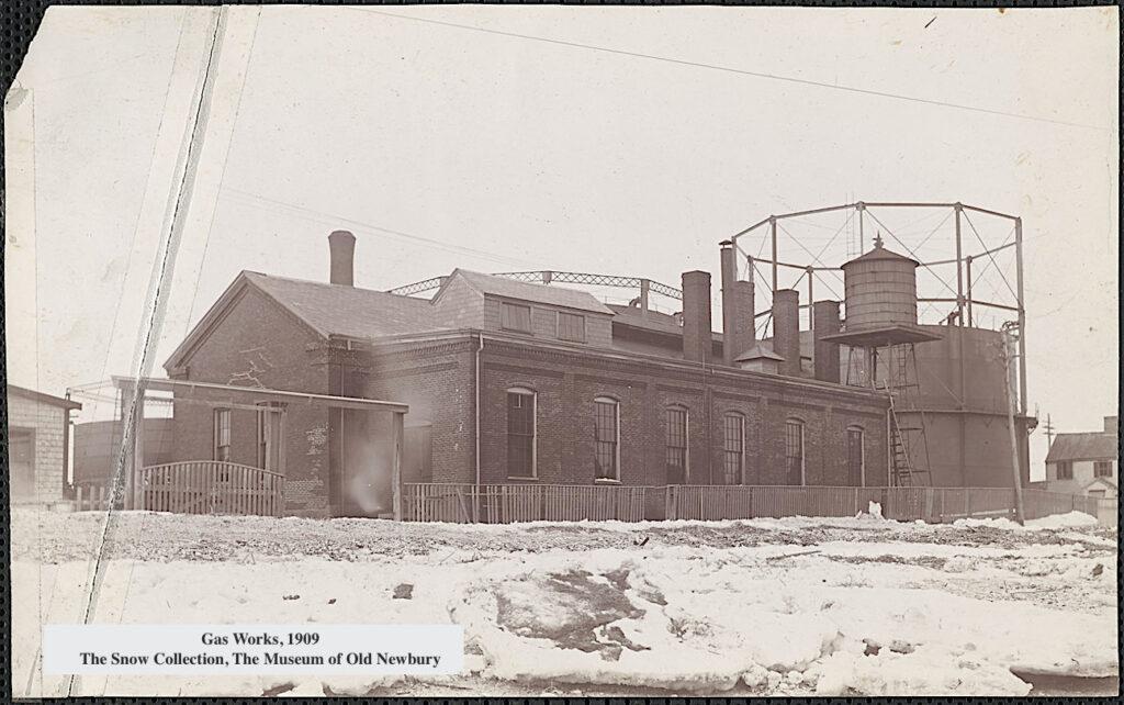 Gas Works 1909 Newburyport MA