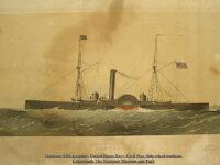 Gunboat USS Ascutney United States Navy