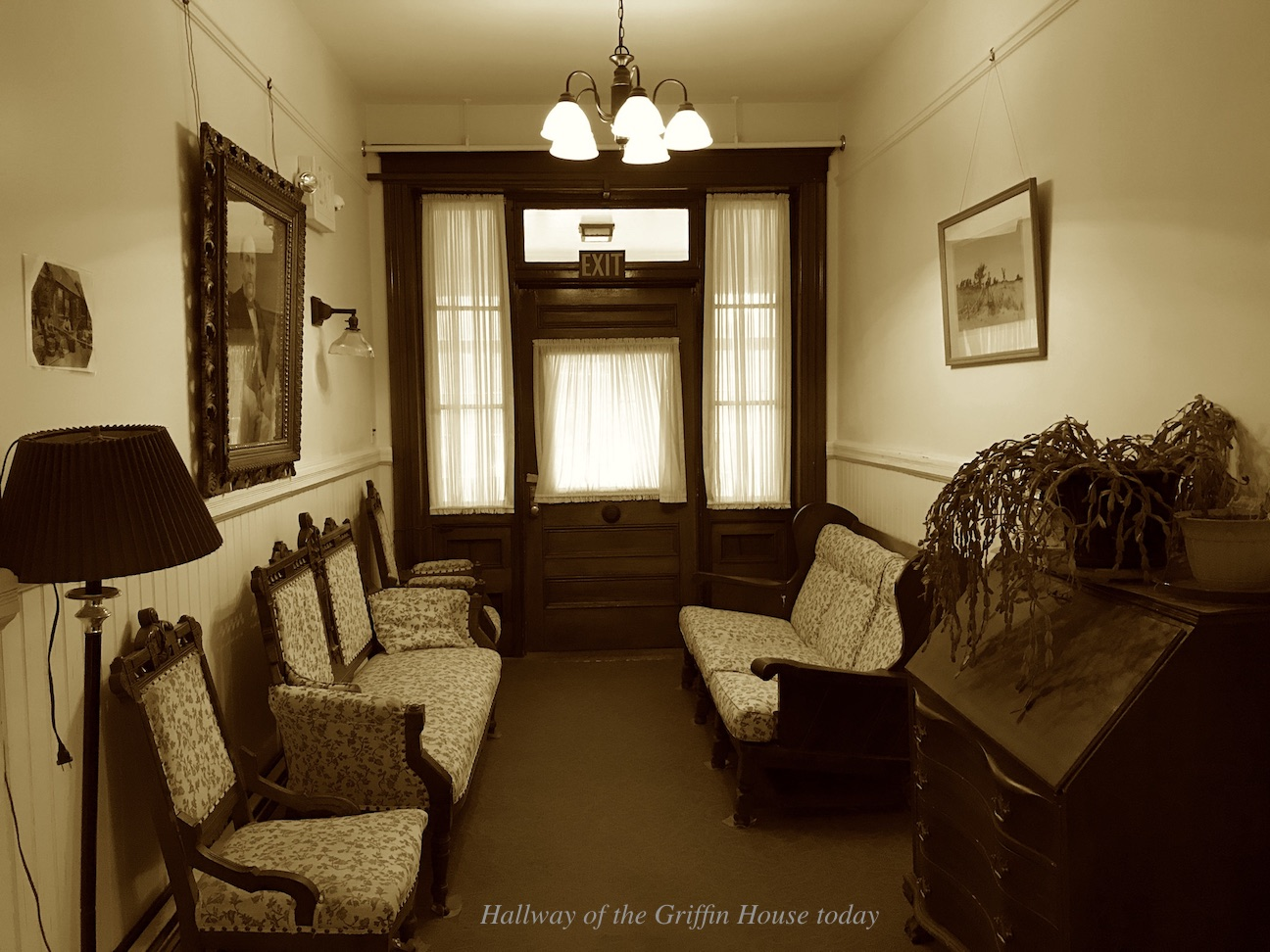 Hallway of the Griffin House Today Newburyport MA