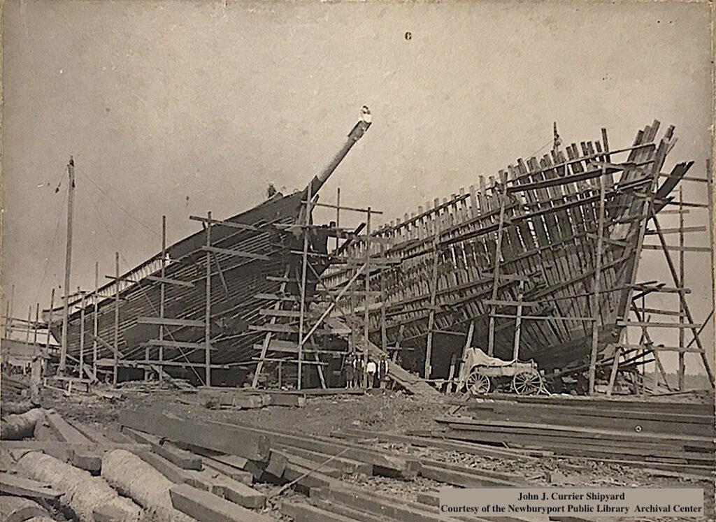 John J Currier Shipyard Newburyport MA