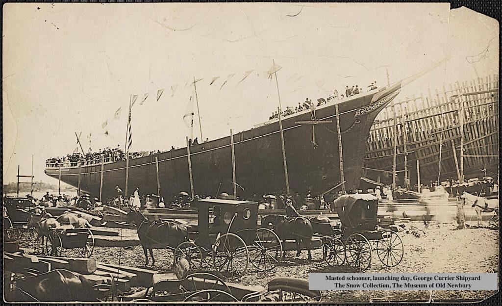 George Currier Shipyard Newburyport MA