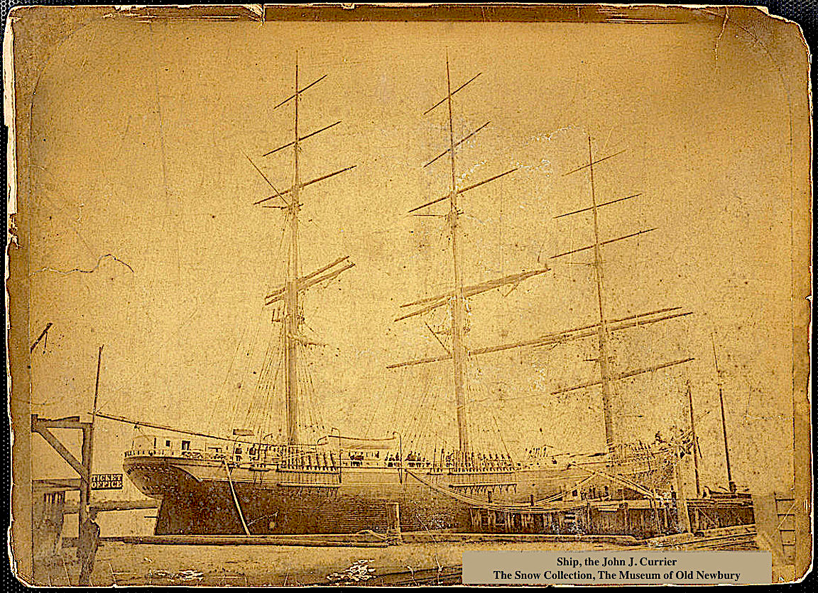 The John J. Currier Ship Newburyport MA