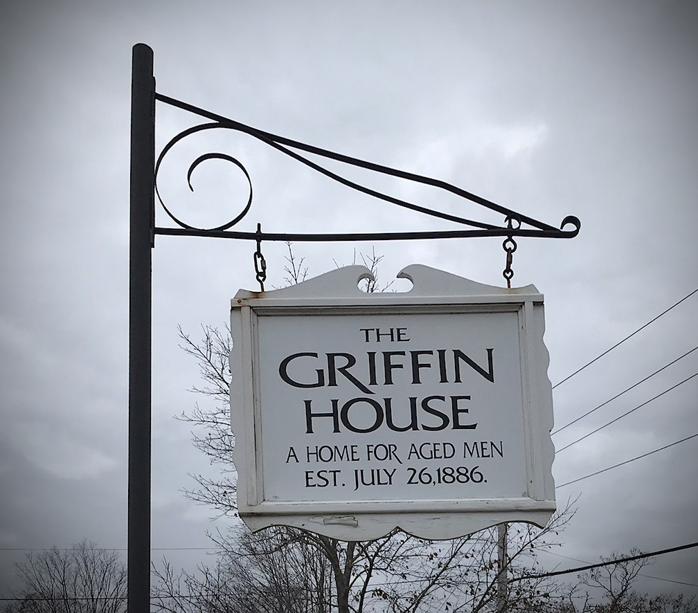 The Griffin House Sign Newburyport MA