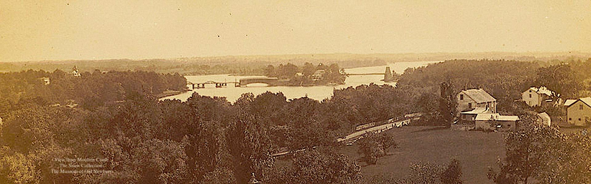 View from Moulton Castle Newburyport MA