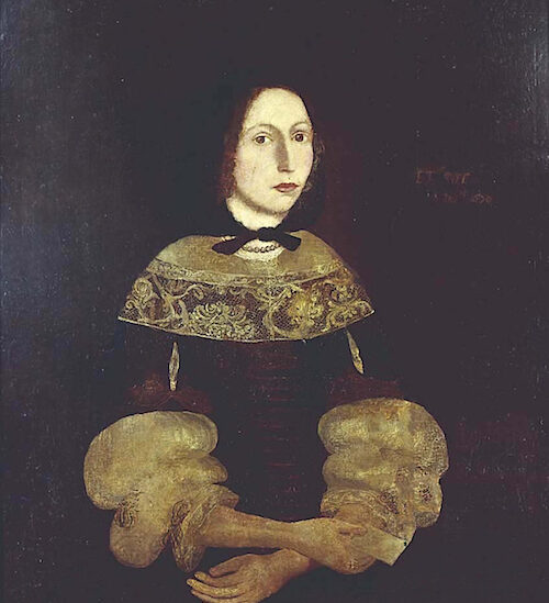 1670 Portrait of Rebecca Rawson Newburyport MA