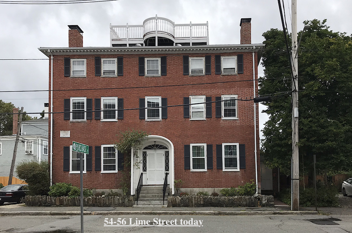 54-56 Lime Street Newburyport MA