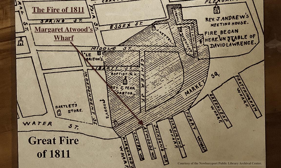 Great Fire of 1811 Newburyport MA