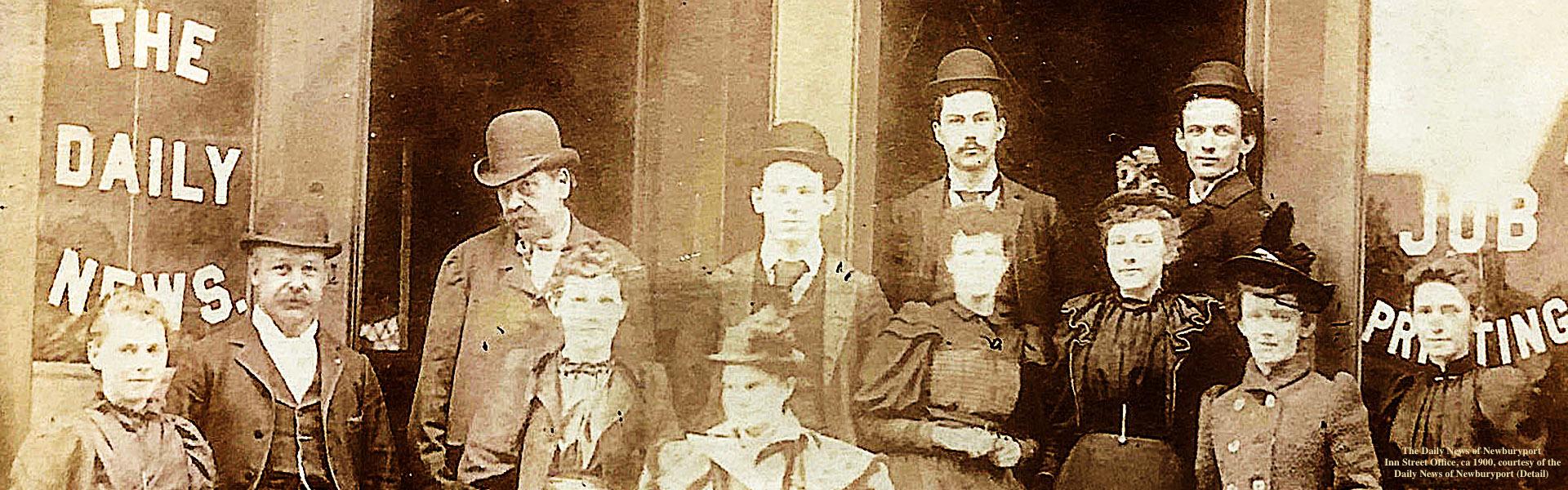 The Daily News Office 1900 Newburyport MA