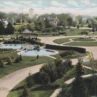 Atkinson Common Postcard Newburyport MA