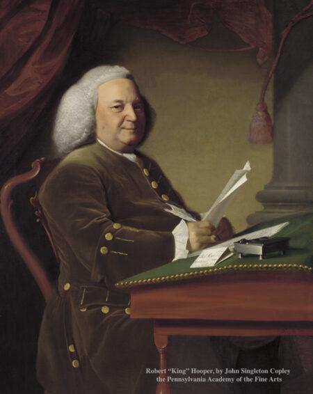 Painting of Robert King Hooper