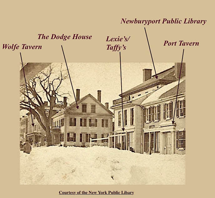The Dodge House Newburyport MA