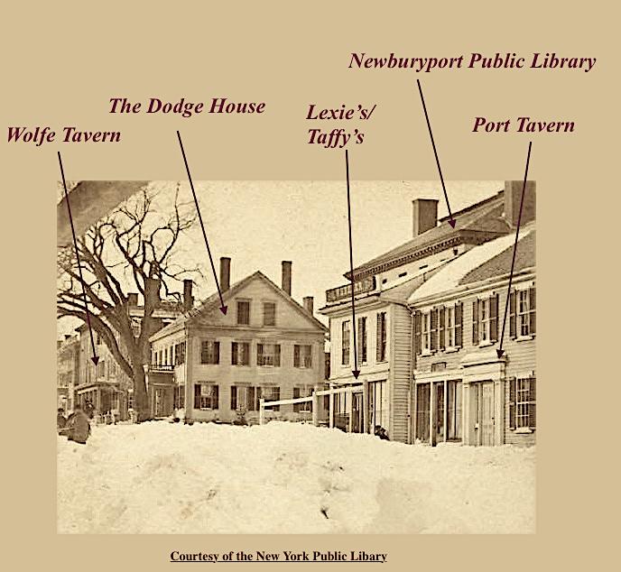 The Dodge House Newburyport MA