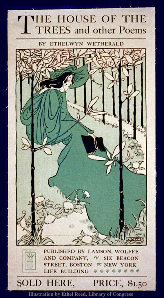 Ethel Reed Illustration 1895 Newburyport MA