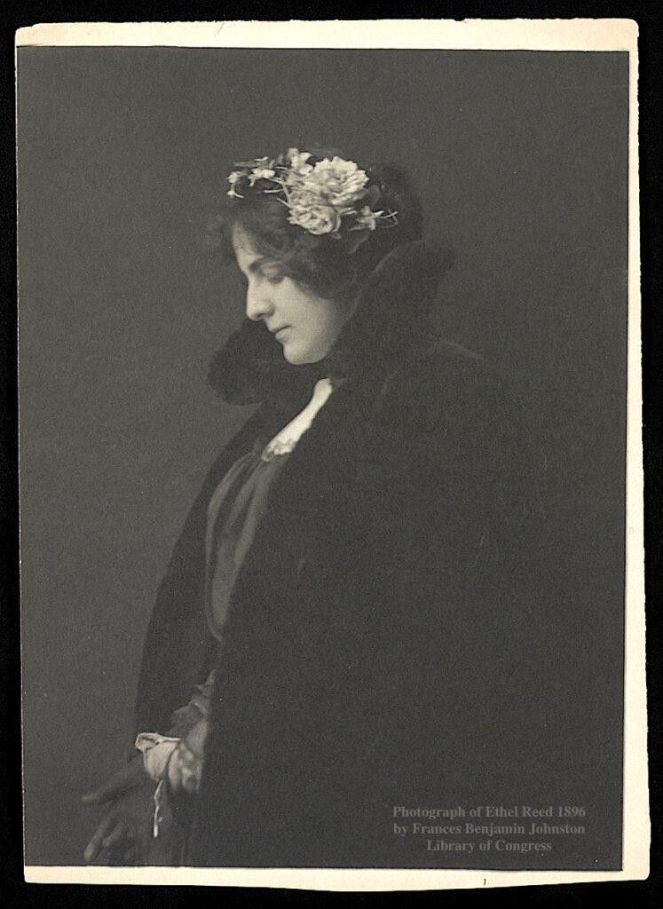 Photograph of Ethel Reed Newburyport MA