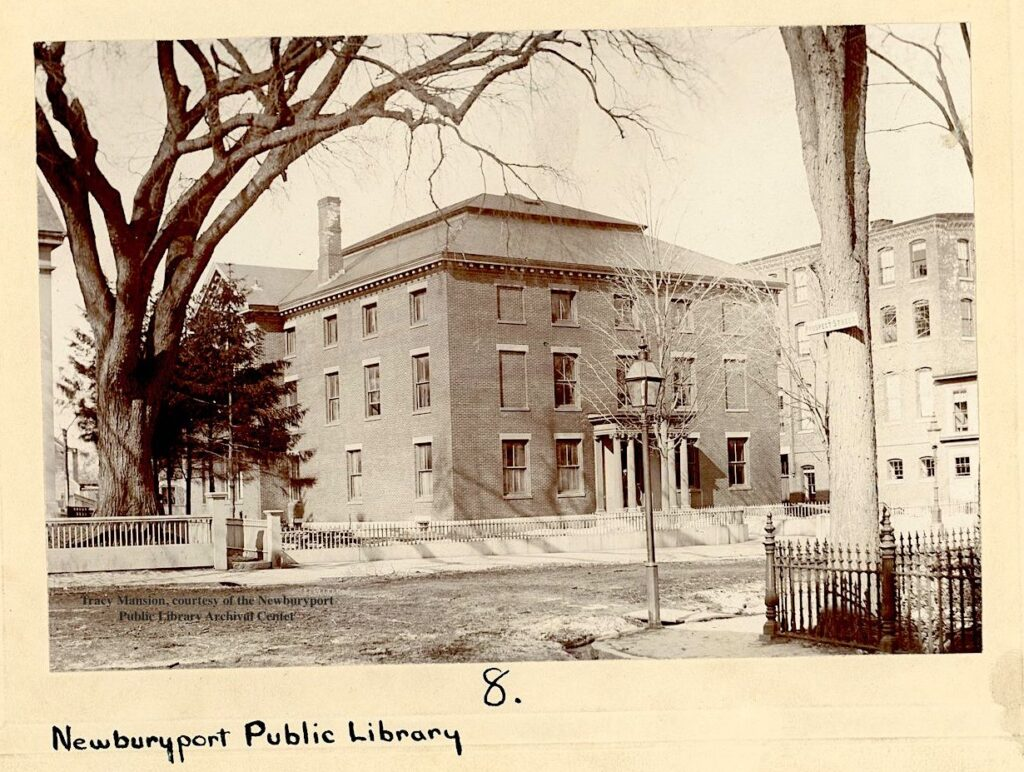 Tracy Mansion Newburyport Public Library Newburyport MA