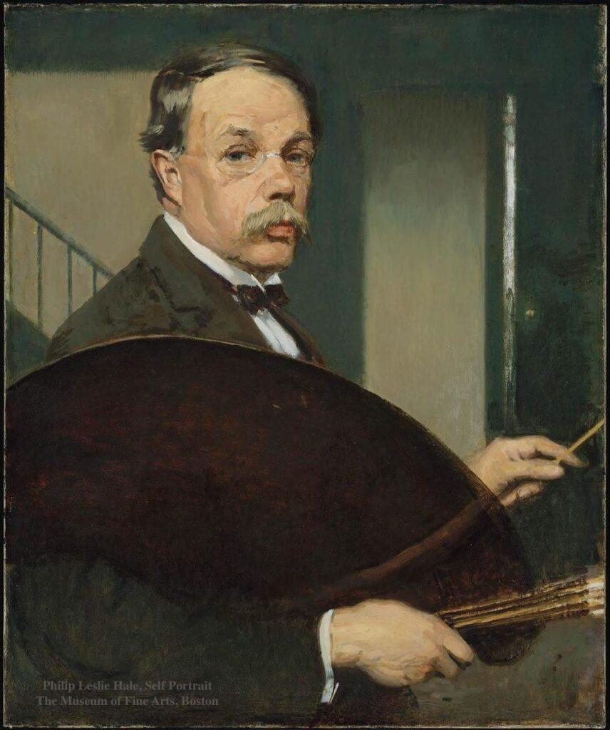 Philip Leslie Hale Self Portrait