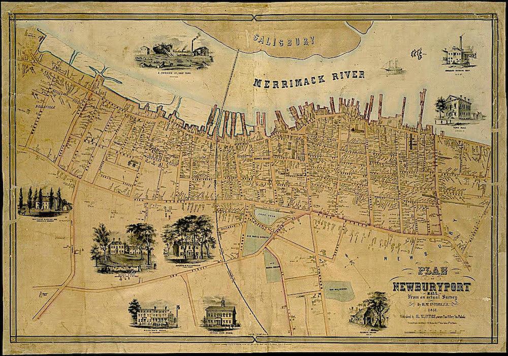 Interactive History Map Newburyport MA