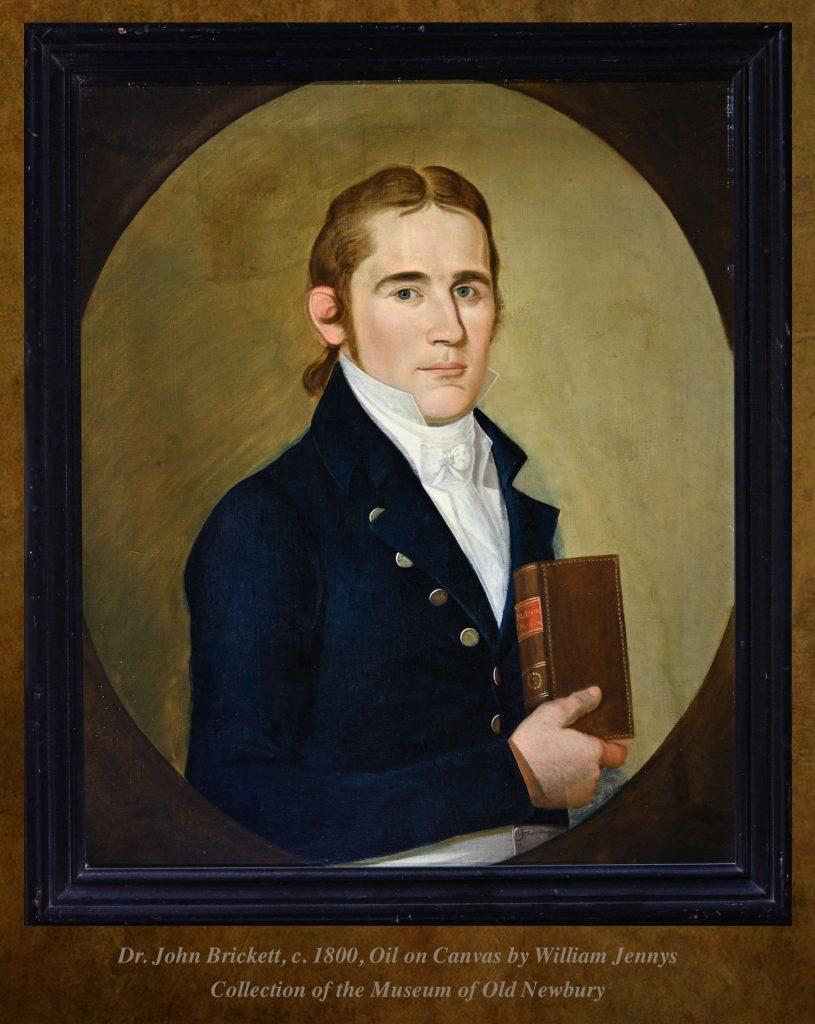 Painting of Dr. John Brickett, Newburyport
