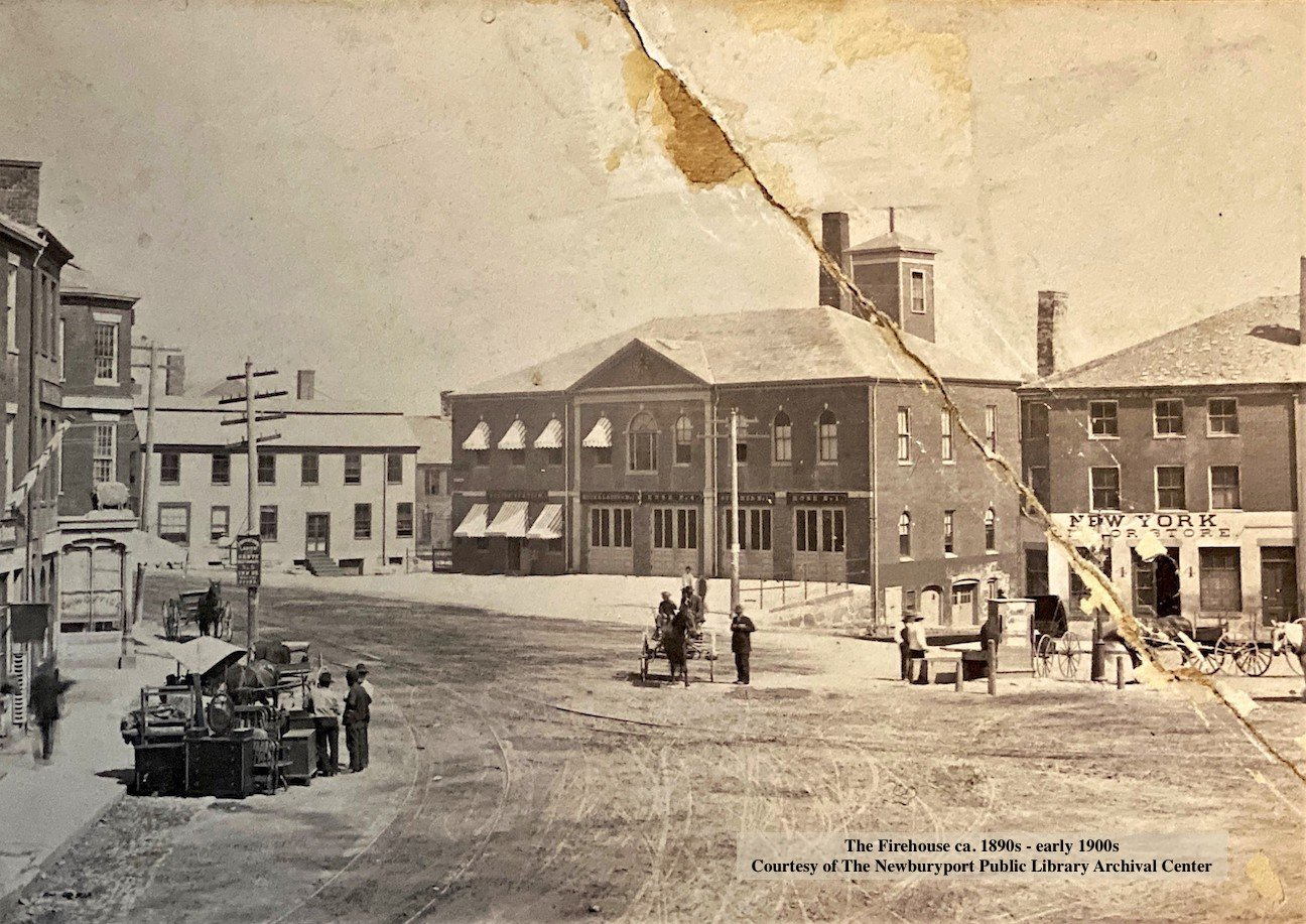 Newburyport, the Market House, the Firehouse, the Firehouse Center for the Arts