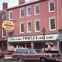 Downtown Newburyport, State Street, Fowle's, 1970s