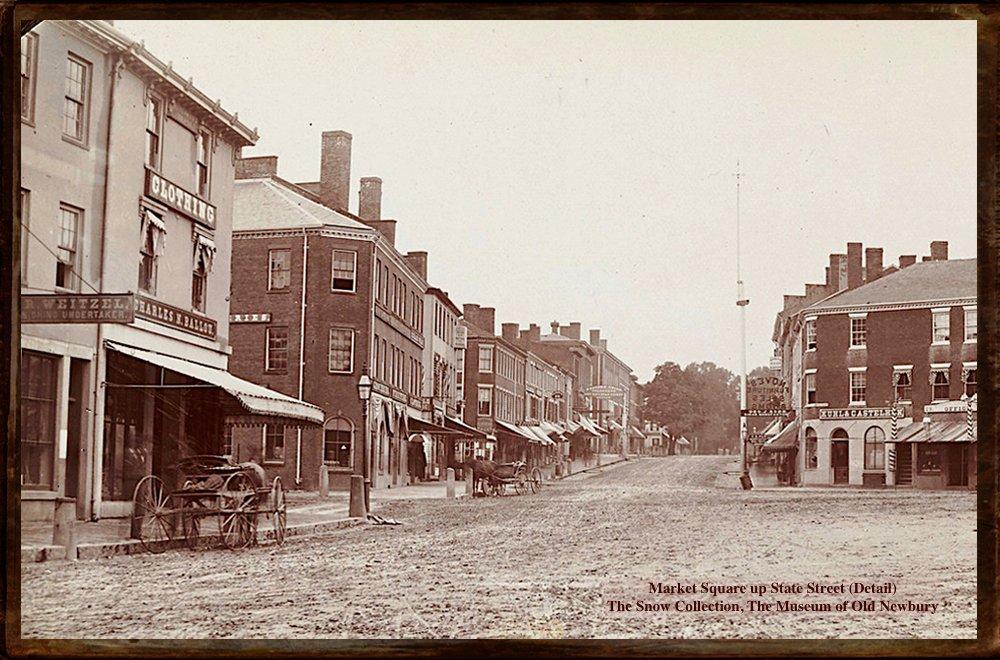 Newburyport, Market Square, State Street