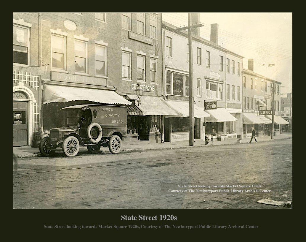 Newburyport, State Street 1920