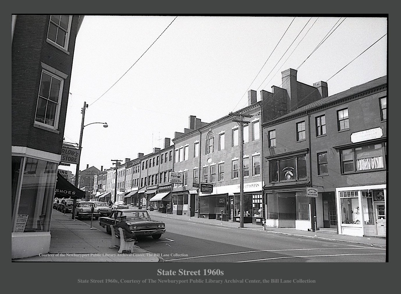 Newburyport, State Street 1960s